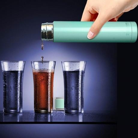 230 мл двустенна термо бутилка цвят тюркоаз ASOBU от серия SKINNY MINI