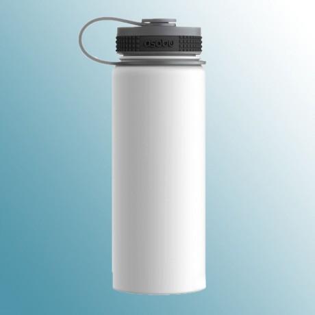 530 мл бяла двустенна термо бутилка ASOBU от серия ALPINE