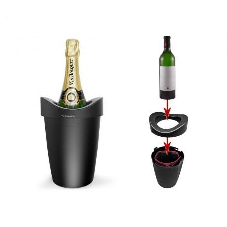 Охладител за бутилки с гел Vin Bouquet