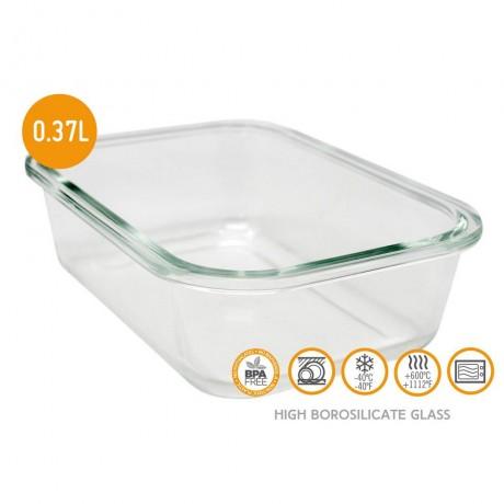 370 мл стъклена кутия за храна с херметическо затваряне Vin Bouquet/Nerthus