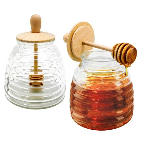 Бурканче за мед с лъжица Vin Bouquet/Nerthus