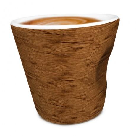 """100 мл порцеланова чаша за кафе """"WOOD"""" от Vin Bouquet"""
