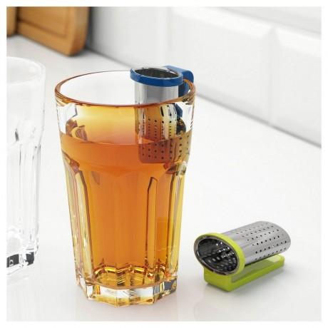 Цедка за чай с поставка - закачалка