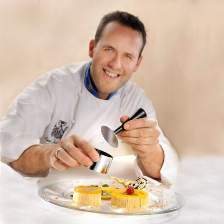 Комплект пръстени за десерти и салати -10 части GEFU FORMIDABLE
