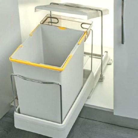 20 +1 л. кош за боклук за вграждане Pelikan серия Carrier