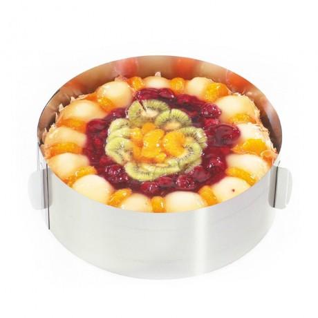 16 - 32 см кръгла форма за торта с регулиране GEFU TONDO