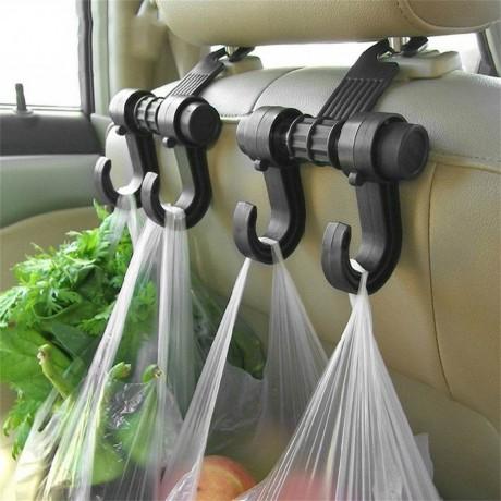 Двойна закачалка за автомобилна седалка