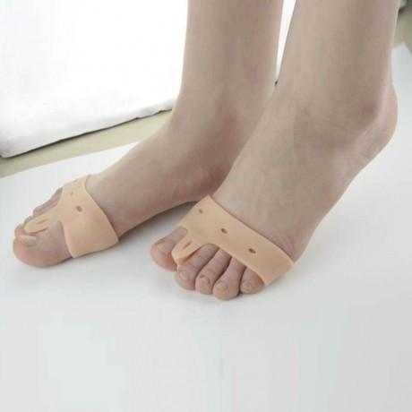 2 бр. силиконови разделители за пръстите на краката