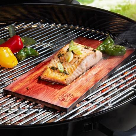 2 броя дъски за риба на барбекю GEFU от серия BBQ