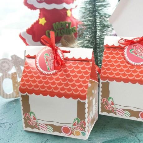 5 бр. коледни кутии за сладки