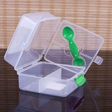 1.3 л. кутия за храна с 3 отделения и комбиниран прибор Gondol