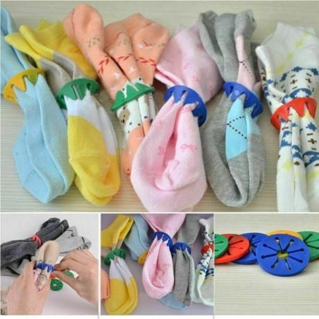 5 бр. щипки за пране на чорапи
