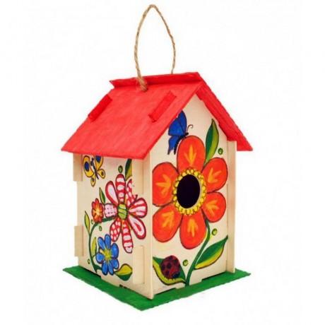 Създай и нарисувай сам къщичка за птички