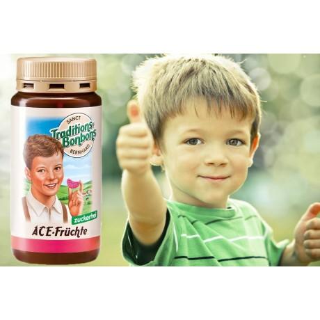 Детски бонбони с витамини А, C и E