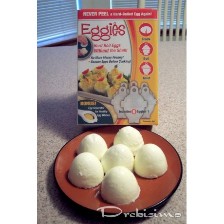 Форми за варене на яйца без черупки