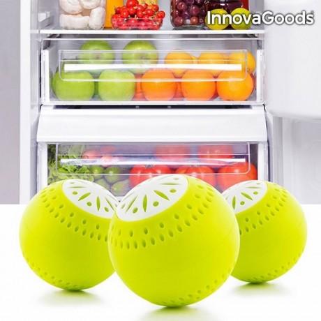 3 бр. освежаващи топки за хладилник