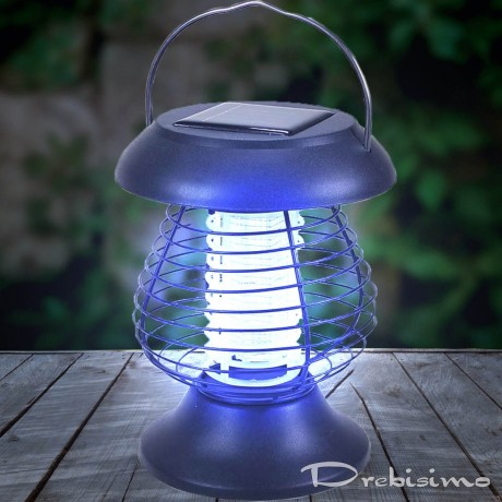 Градинска соларна лампа против комари 2 в 1