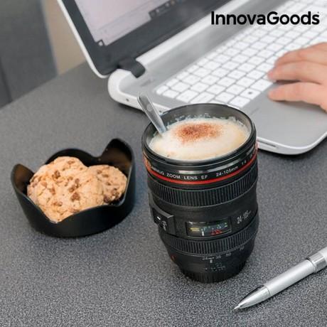 Чаша с форма на фотообектив - InnovaGoods