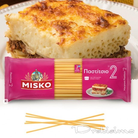 Макарони MISKO модел Pastitsio No2 (Bucatini)