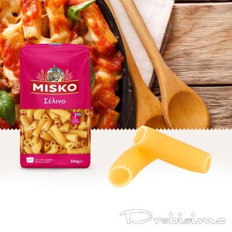 Малки прави макарони Rigatoni Small от MISKO