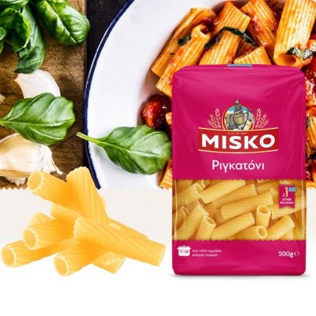 Прави макарони Rigatoni от MISKO