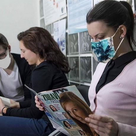 Хигиенна маска от текстил за многократна употреба