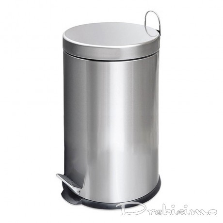 20 л. цвят матиран инокс кофа за боклук с педал Bath and Cleaning