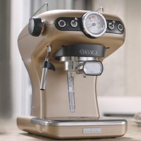 Брознова кафемашина за еспресо с ръкохватка Ariete от серия Classica