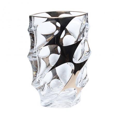 28 см ваза Bohemia от серия Calypso Platinum