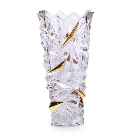 30.5 см ваза Bohemia от серия Glacier Gold
