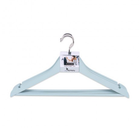3 бр сини закачалки за дрехи Luigi Ferrero модел FR-4532NBC