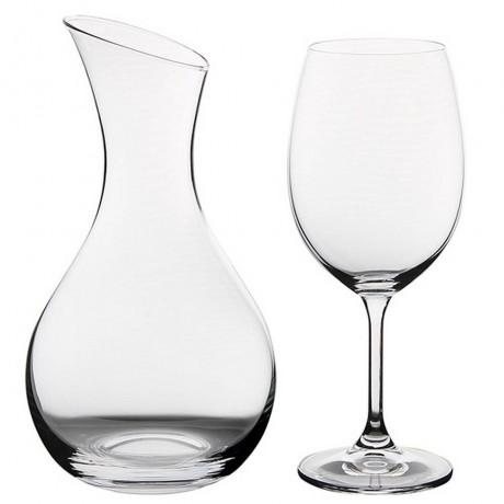 Комплект гарафа и чаши Bohemia Royal от серия Fashion of Wine