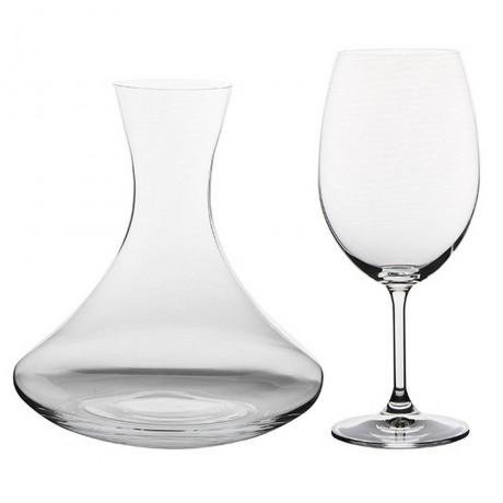 Декантер и 6 бр чаши Bohemia Royal от серия Fashion of Wine