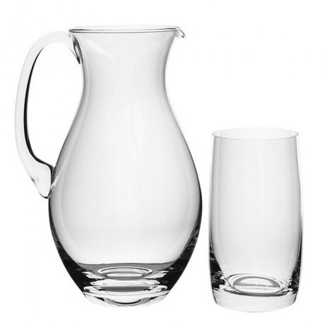 Кана и 6 бр чаши Bohemia Royal от серия Ideal