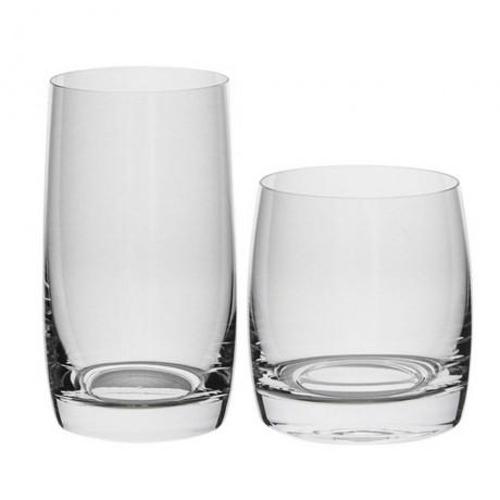 Комплект за алкохол и вода от 12 части Bohemia Royal от серия Ideal