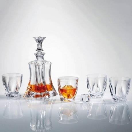 Комплект за уиски от 7 части Bohemia от серия Florale