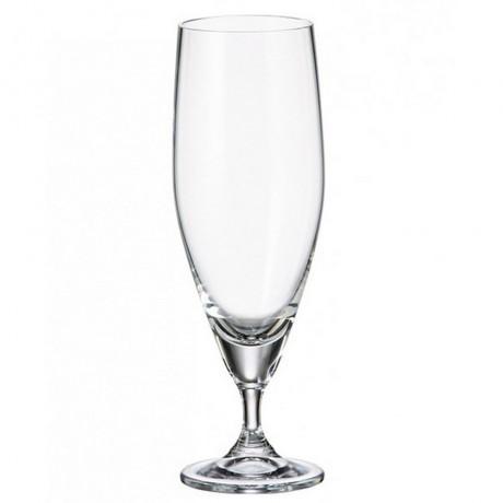 6 бр чаши за бира по 350 мл Bohemia Glass от серия Sitta