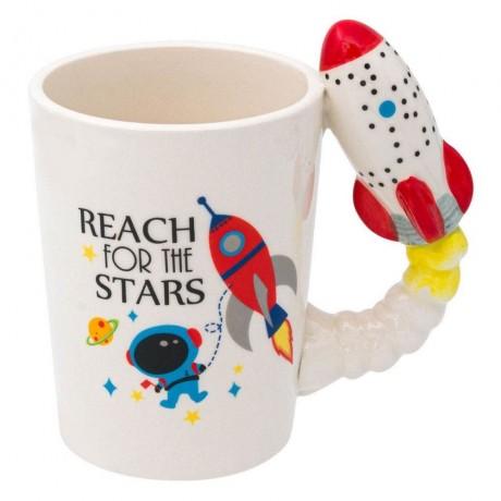 400 мл детска чаша с надпис REACH FOR THE STARS