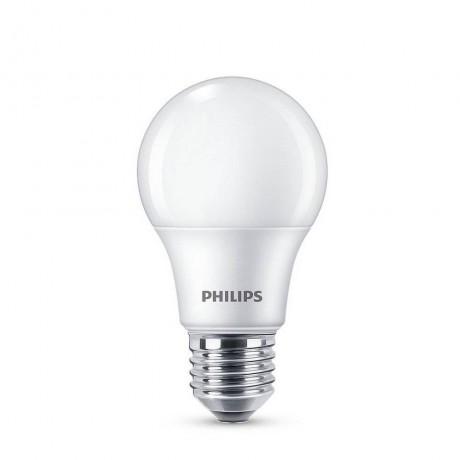 LED лампа Philips 7W-50W, E27, Бялa