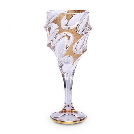 6 бр чаши за вода по 320 мл Bohemia от серия Calypso Golden Ice