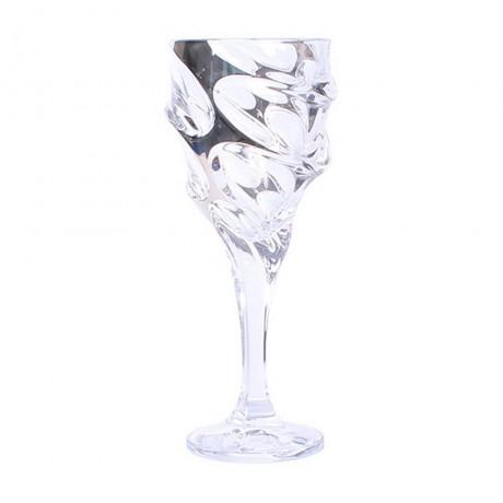6 бр чаши за вода по 320 мл Bohemia от серия Calypso Platinum
