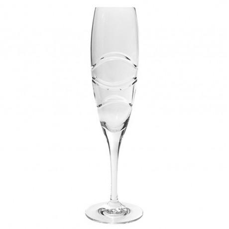6 бр чаши за шампанско по 200 мл Bohemia от серия Fiona K