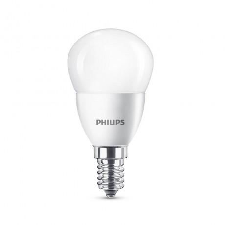 LED крушка Philips-Signify 5,5W-40W, E14, Топла бялa светлина