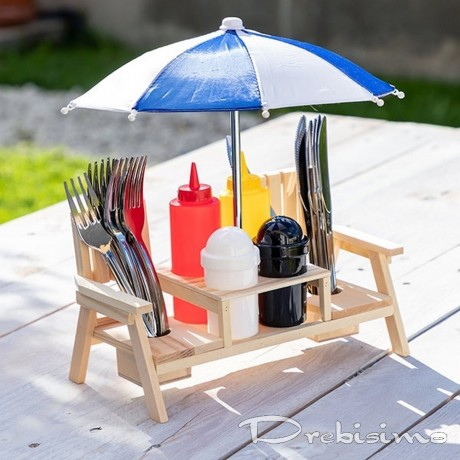 Комплект за подправки за пикник