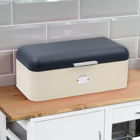 Метална кутия за хляб с горен капак