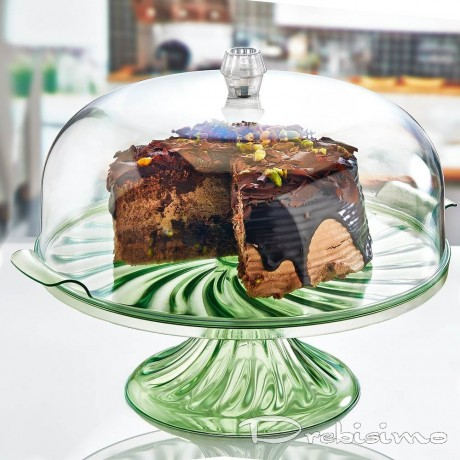 Красива поставка за торта или сладкиш с капак