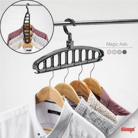 Пластмасова мулти закачалка Magic Hanger