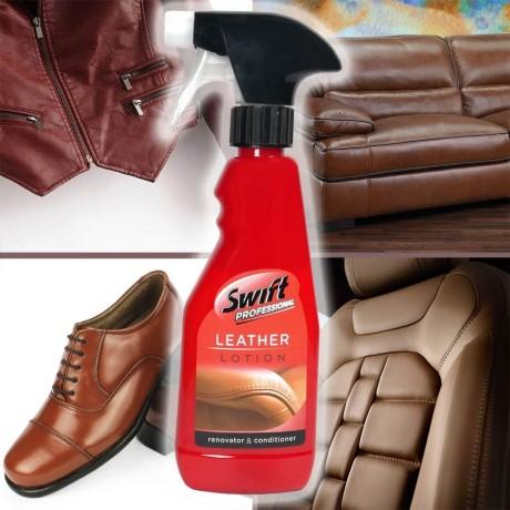 300 мл лосион за освежаване на кожени изделия Swift Professional