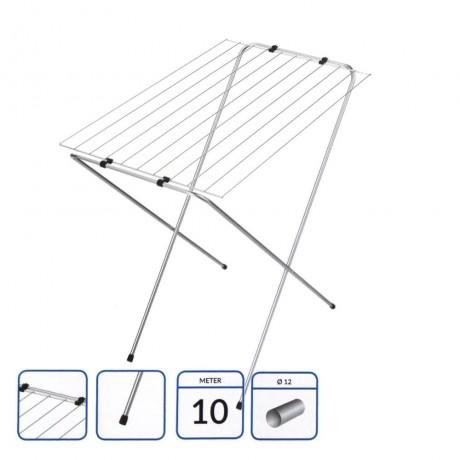 Компактен стоящ сушилник за балкон модел SMART 10