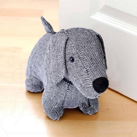 Стопер - симпатично сиво кученце
